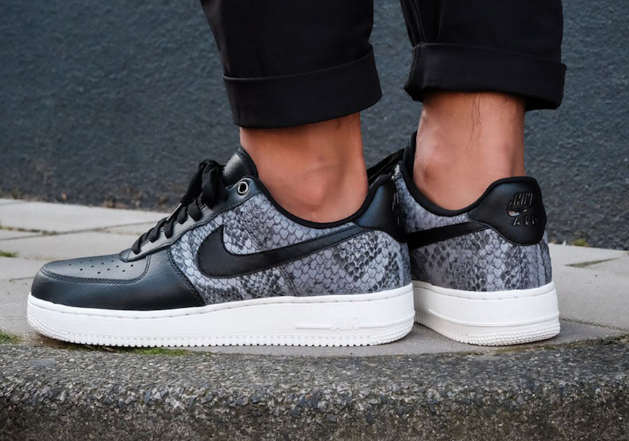 Nike Air Force 1 Low Lv8 Snakeskin 823511 003 Sneakerfiles