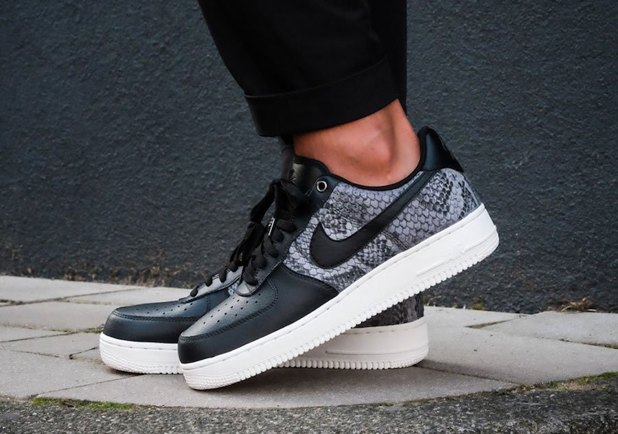 hot sale online 6369e ef76b Nike Air Force 1 Low LV8 Snakeskin 823511-003 | SneakerFiles