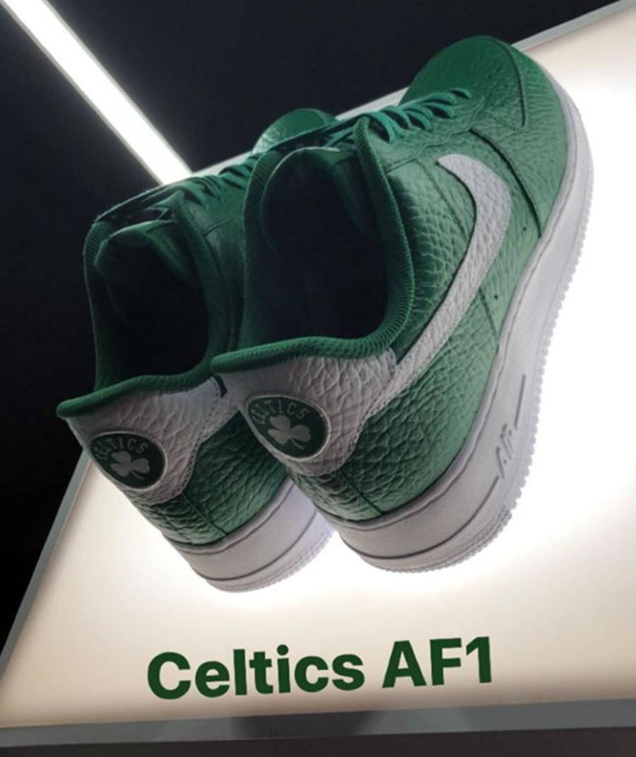 Nike Air Force 1 Low NBA Logos Boston