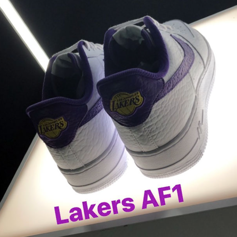 Nike Air Force 1 Low NBA Logos Lakers