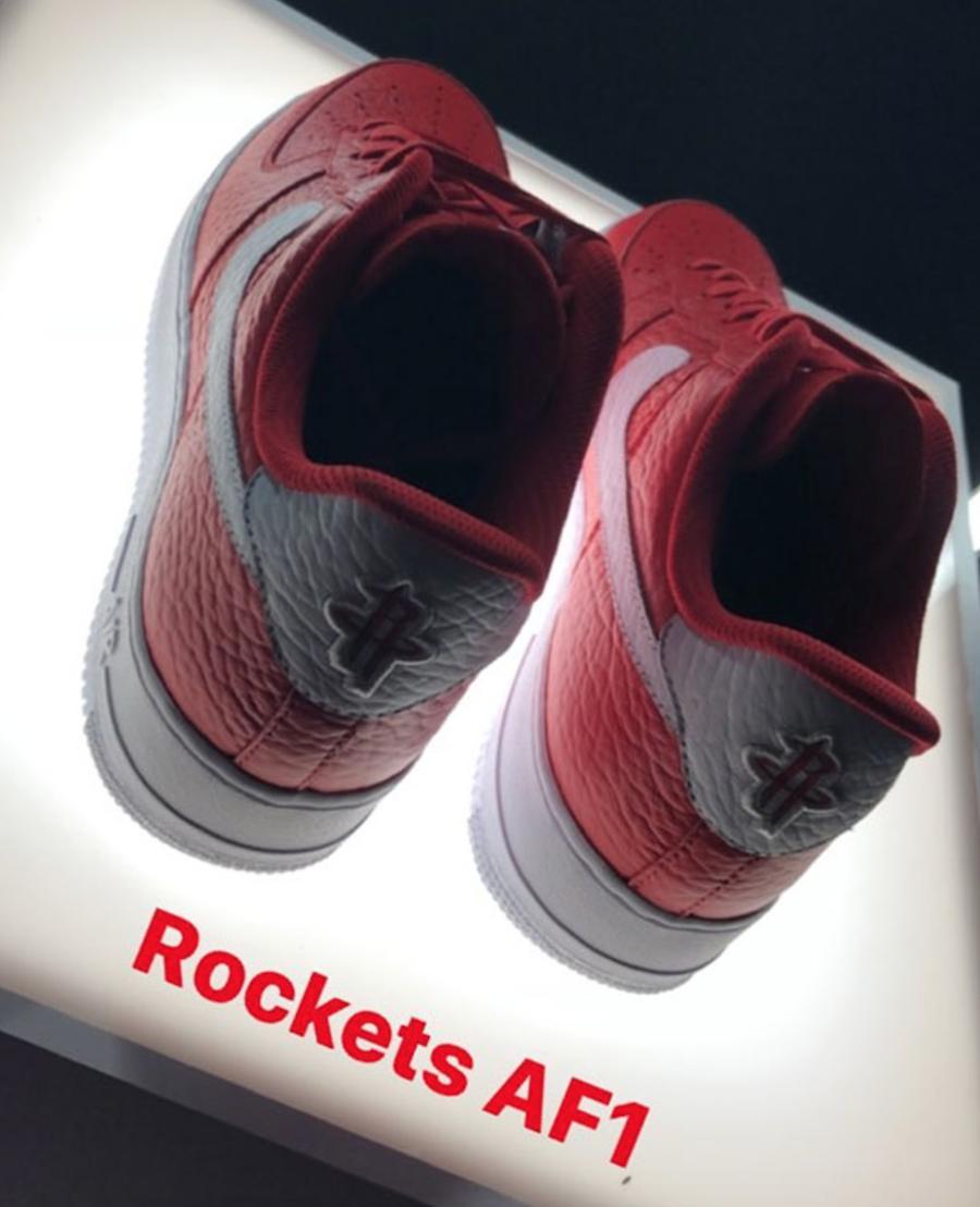 Nike Air Force 1 Low NBA Logos Rockets