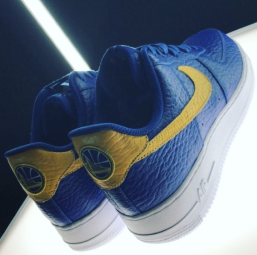 Nike Air Force 1 Low NBA Logos Warriors