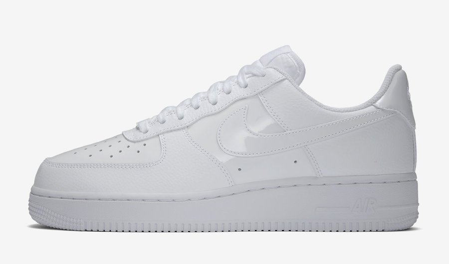 Nike Air Force 1 Low White Patent Leather AH0287-100