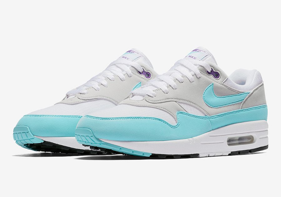 Nike Air Max 1 Anniversary Aqua Purple 908375-105
