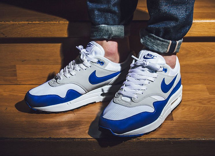 Nike Air Max 1 Anniversary Royal 908375-101   SneakerFiles