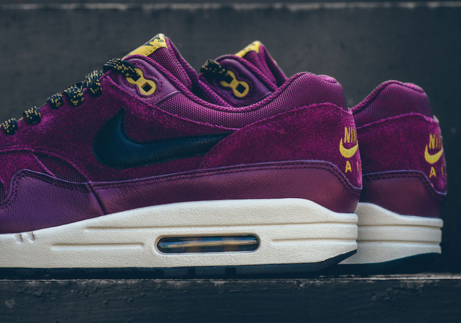 nike air max 1 premium bordeaux 875844 601 sneakerfiles. Black Bedroom Furniture Sets. Home Design Ideas