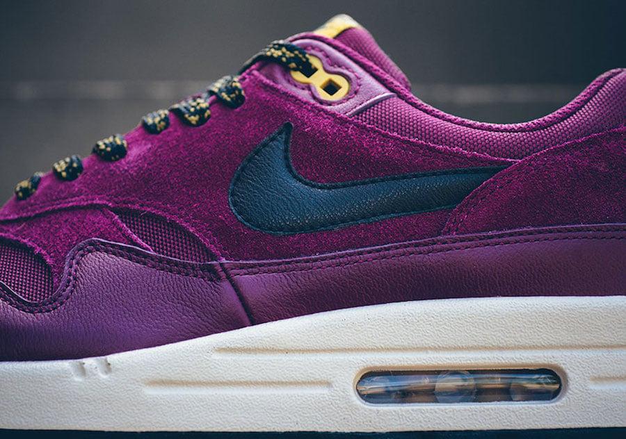 Nike Air Max 1 Premium Bordeaux 875844 601 | SneakerFiles