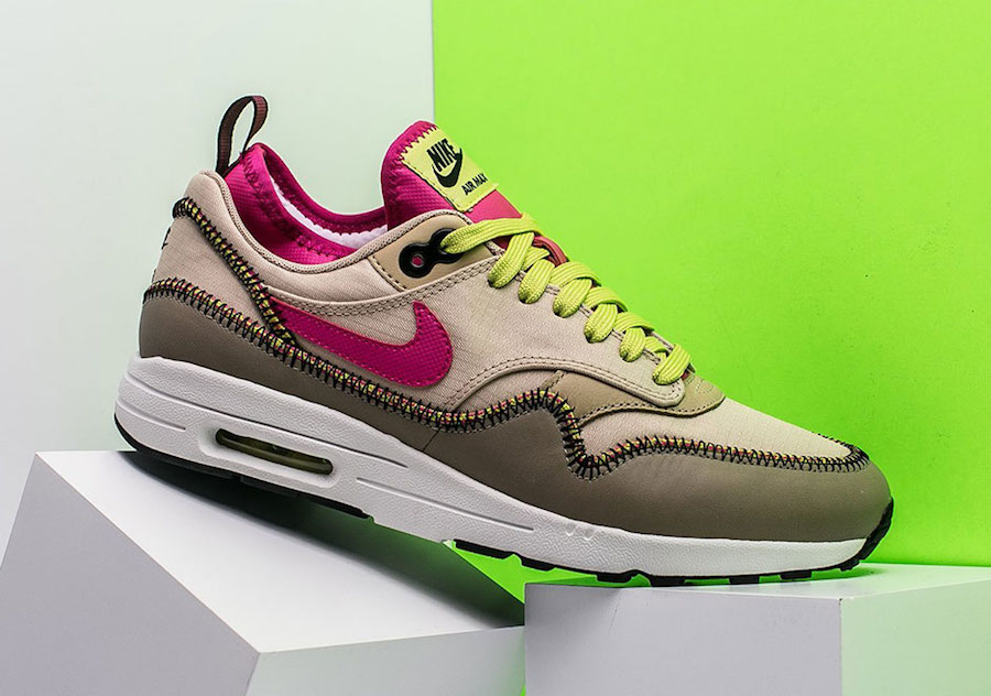 lowest price 27925 7c8f5 Nike Air Max 1 Ultra 2.0 Mushroom Pink 881103-200