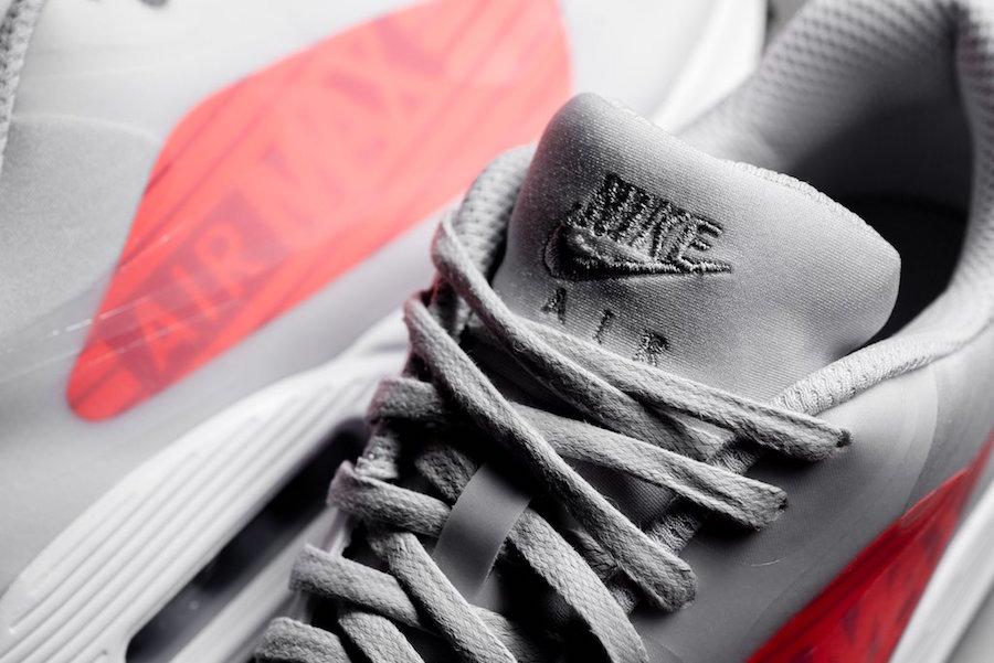 Nike Air Max 90 NS GPX Big Logo Crimson