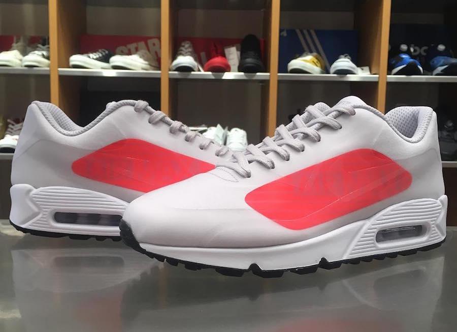Nike Air Max 90 NS GPX Grey Crimson AJ7182 001 | SneakerFiles