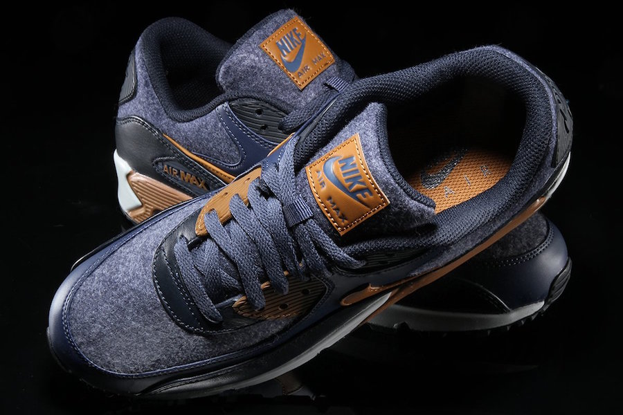 Nike Air Max 90 Wool Thunder Blue 700155 404 | SneakerFiles