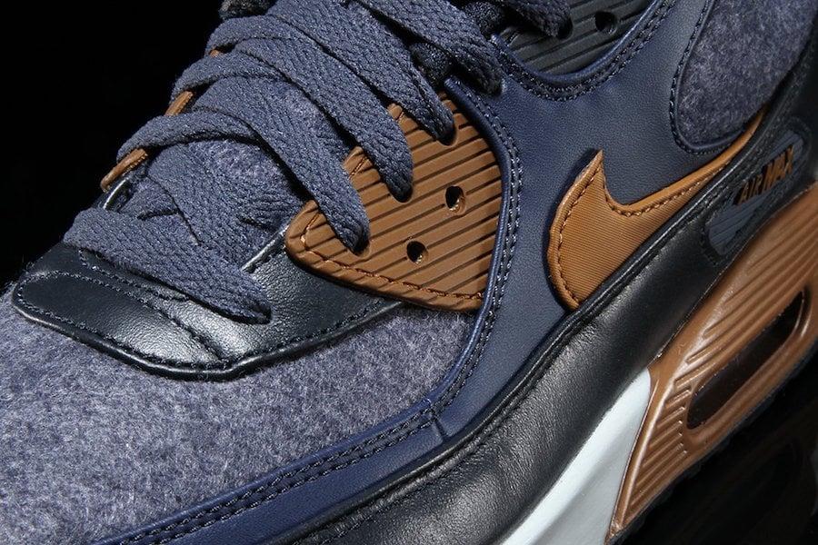 Nike Air Max 90 Wool Thunder Blue 700155-404