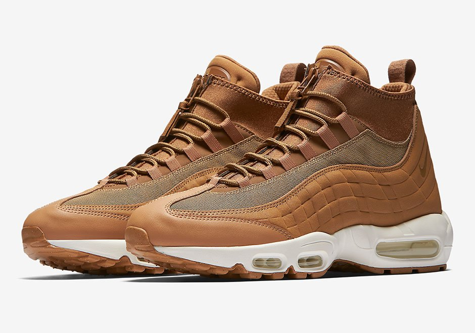 Nike Air Max 95 Sneakerboot Flax 806809-201