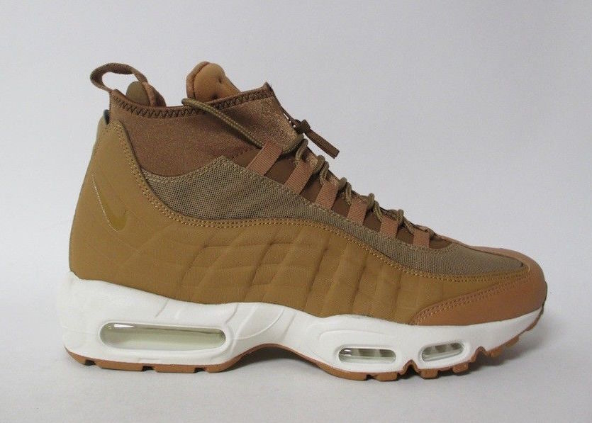 pretty nice fc5f8 b452d Nike Air Max 95 Sneakerboot Wheat Release Date