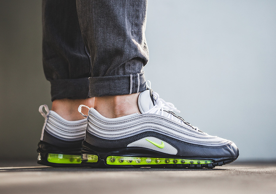 Nike Air Max 97 Neon On Feet