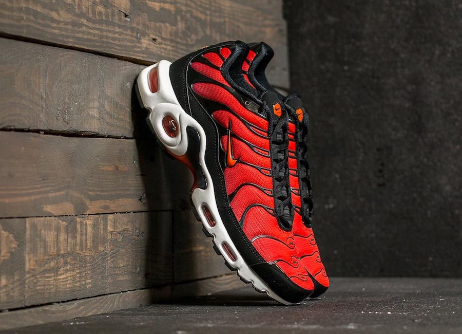 Nike Air Max Plus Team Red Orange 852630 023 Sneakerfiles
