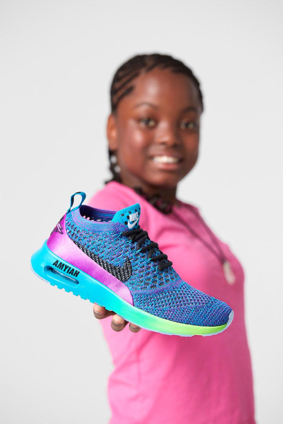 Nike Air Max Thea Ultra Flyknit Doernbecher Amyiah Robinson