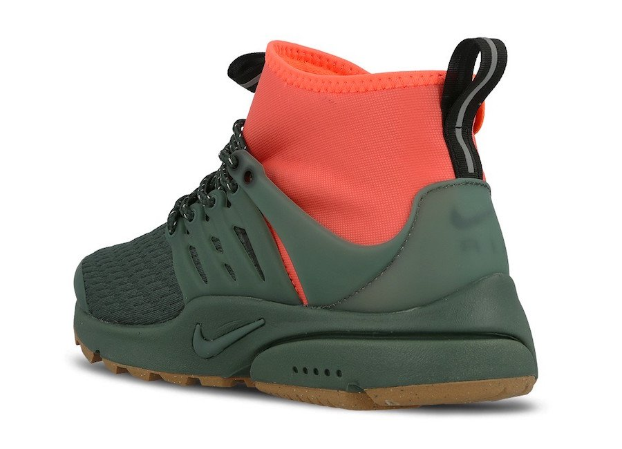 save off 6a16d e72e9 Nike Air Presto Mid Utility Vintage Green AA0674-300