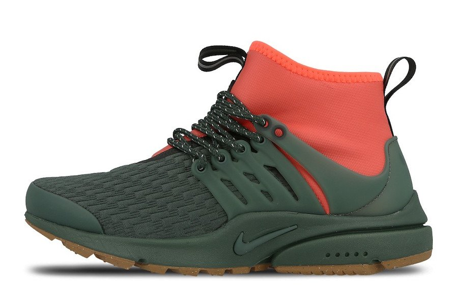 save off 71079 23a1b Nike Air Presto Mid Utility Vintage Green AA0674-300