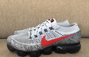 Nike Air VaporMax White Red Black 849558-020