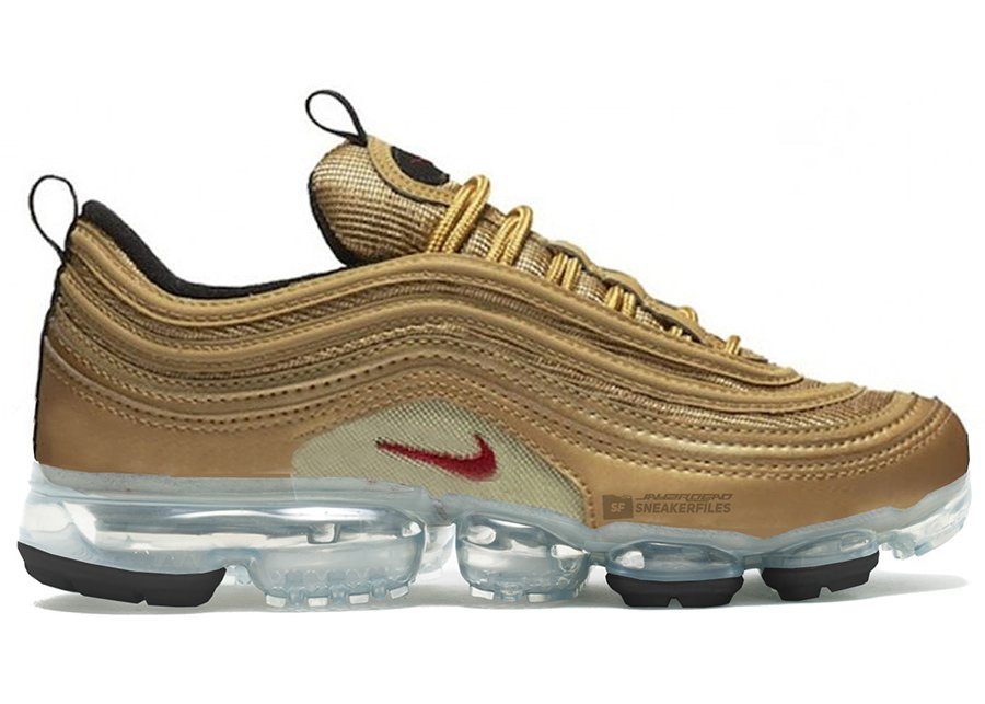 gold air max 97 vapormax