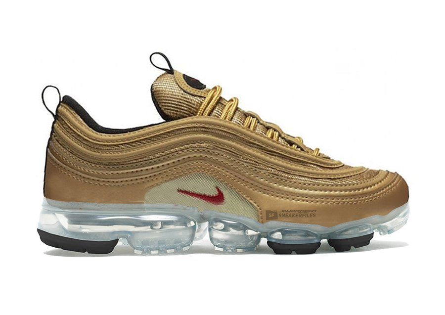 Nike Air VaporMax 97 Metallic Gold Release Date