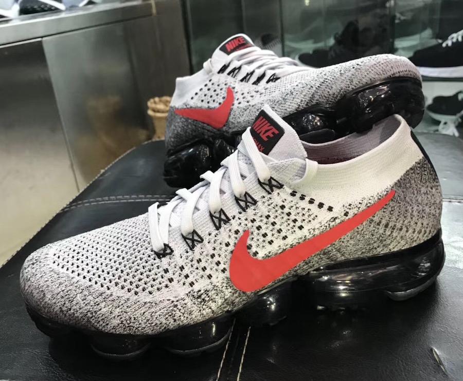 Nike Air VaporMax Grey Red Black