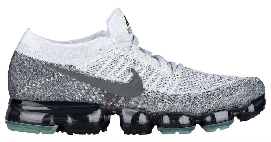 Nike Air Vapormax Flyknit Heritage Pack Pure Platinum Anthracite Grey 922915-002