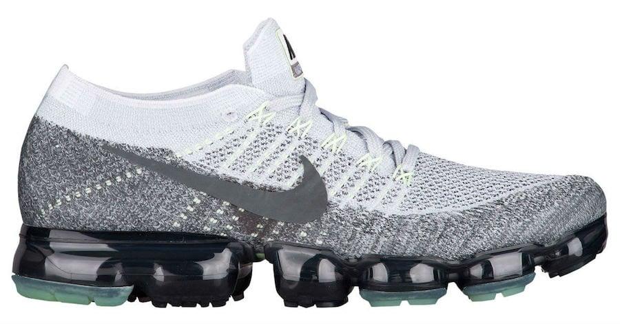 5c8b225277cc Nike Air VaporMax Heritage Neon Pack Pure Platinum White Dark Grey  922915-002