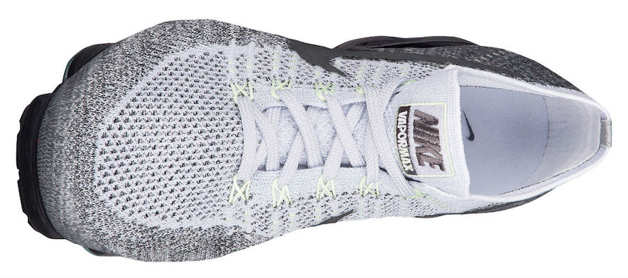 Nike Air VaporMax Heritage Neon Pack Pure Platinum White Dark Grey 922915-002