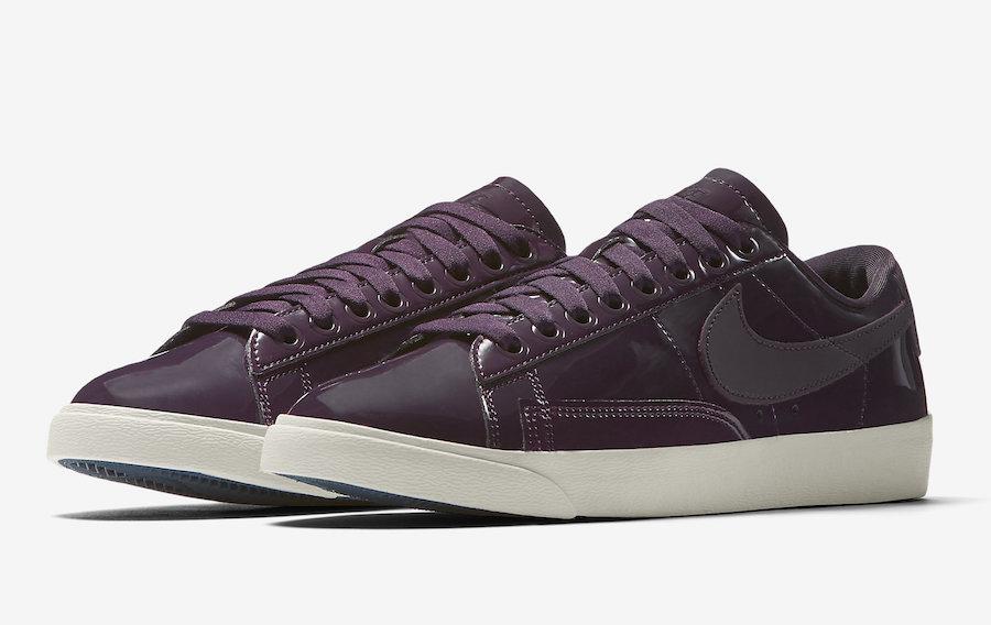 Nike Blazer Low Port Wine AA1557-600