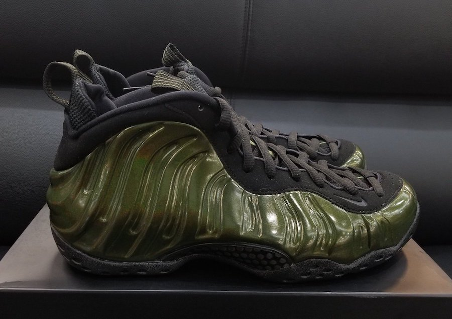 free shipping 0b152 d4582 sale nike foamposite one green black 014f3 b87c1