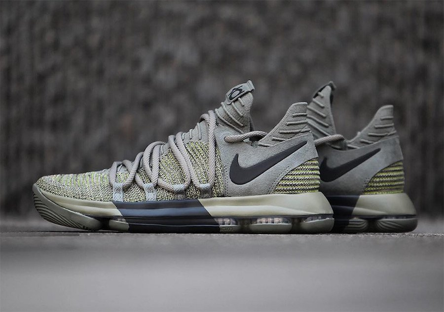 Nike KD 10 Dark Stucco Anthracite AA4197-002