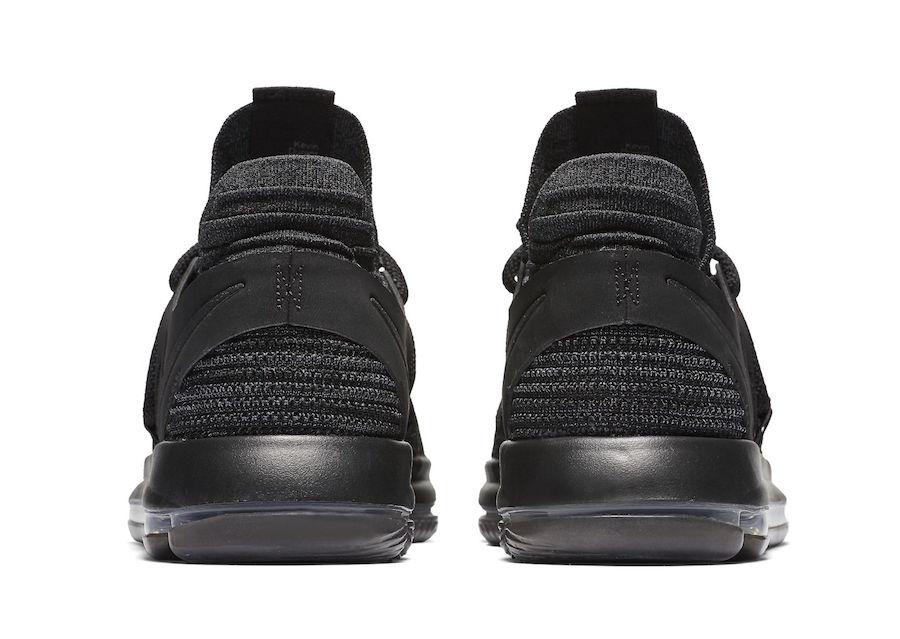Nike KD 10 Triple Black 897816-004