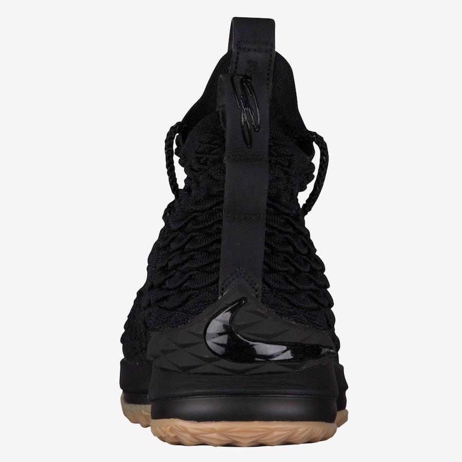 Nike LeBron 15 Black Gum 897648-300