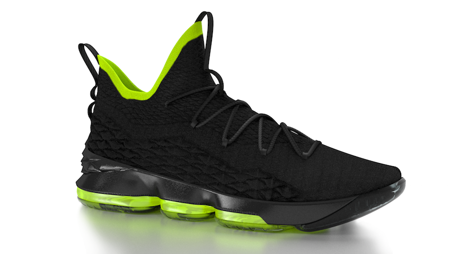 Nike LeBron 15 Black Volt