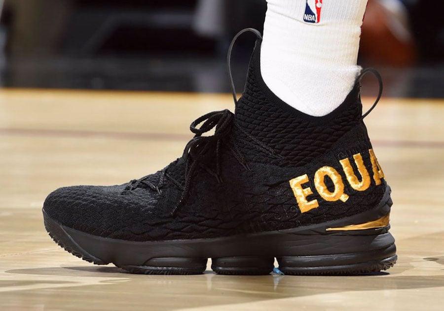 Nike LeBron 15 Equality