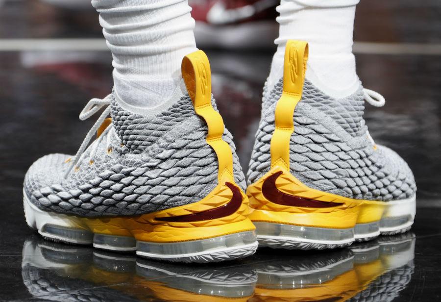 Nike LeBron 15 PE LeBron Watch Release