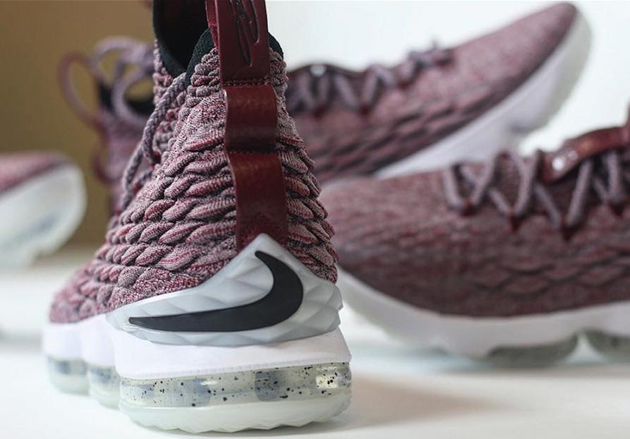 Nike LeBron 15 Red Wine