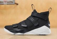 0438e49a935e Ohio State Nike LeBron Soldier 11 Cleats