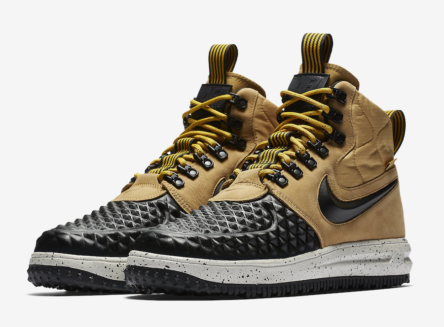 Nike Lunar Force 1 Duckboot Black Tan 916682-701