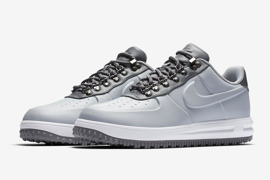 Nike Lunar Force 1 Duckboot Low Wolf Grey AA1125-002