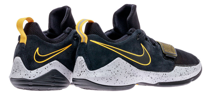 Nike PG 1 GS Black University Gold 880304-006