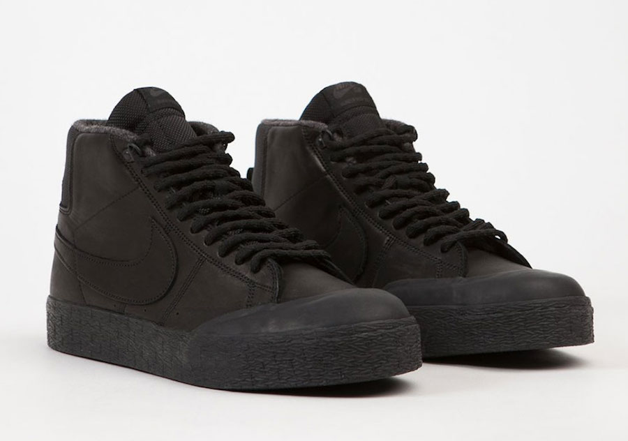 separation shoes 79013 f97c0 Nike SB Blazer Mid XT Bota Shoes Black | SneakerFiles