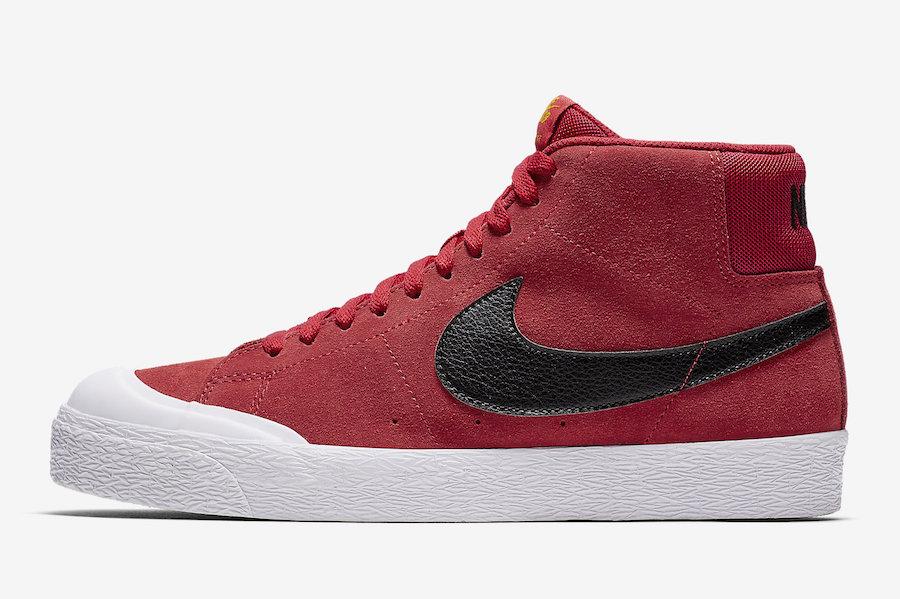 Nike SB Blazer Mid XT University Red