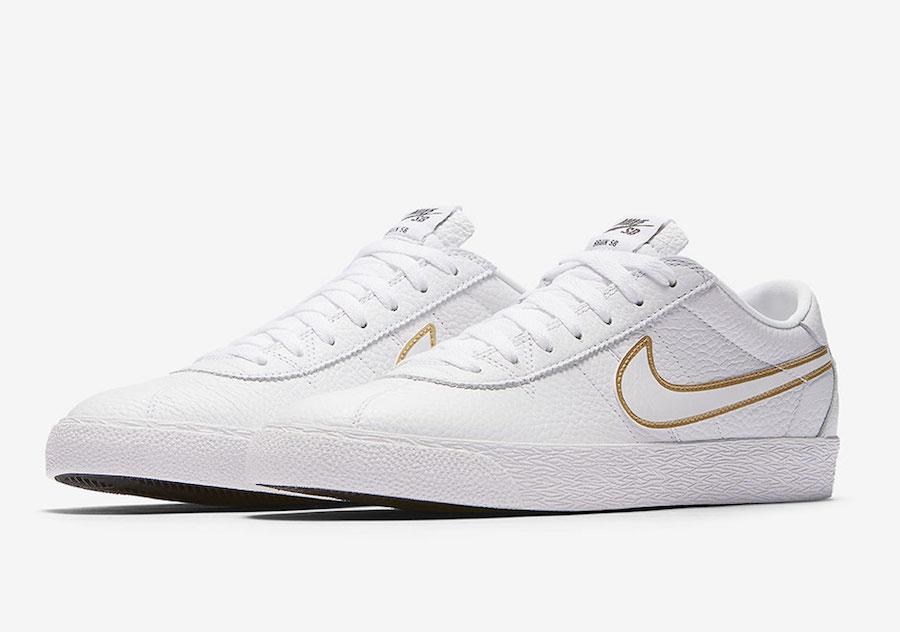 Nike SB Bruin Premium White Gold 877045-117