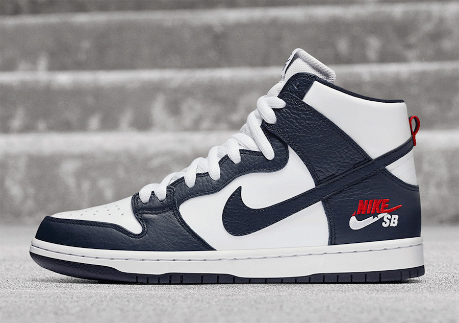 Nike SB Dunk High Dream Team Obsidian White