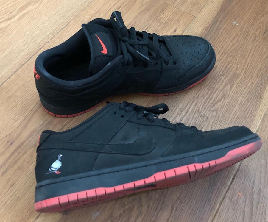 Nike SB Dunk Low Pigeon Black 883232-008