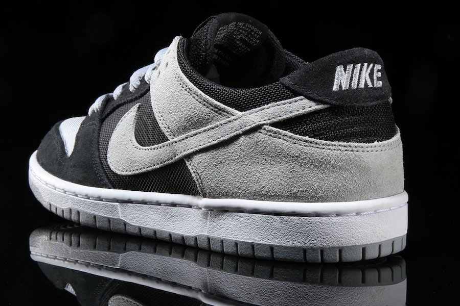 nike sb dunks black and grey low