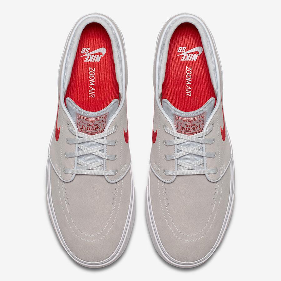 Nike SB Stefan Janoski Beige Red